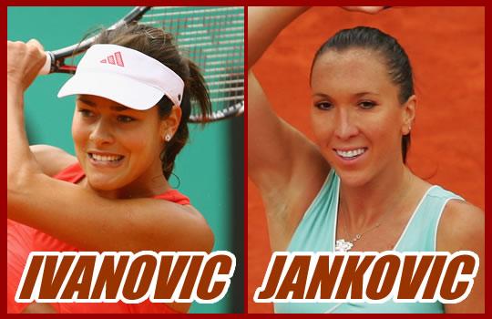 アナ・イバノビッチ&イェレナ・ヤンコビッチ